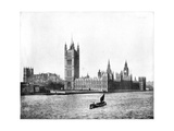 Houses of Parliament, London, Late 19th Century Giclee Print by John L Stoddard