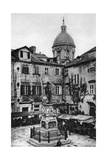 The Market Place at Dubrovnik, Yugoslavia, C1930S Giclee Print by John Bushby