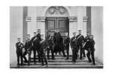 Field Marshal Lord Roberts and His Headquarters Staff, Kilmainham, Ireland, 1896 Giclee Print by  Lafayette