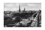 Lord Street, Southport, Lancashire, C1900s Giclee Print