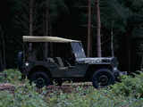 A 1943 Willys Jeep Photographic Print