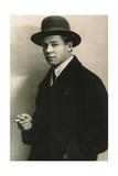 Sergei Yesenin, Russian Poet, C1915-C1925 Giclee Print by Moisei Solomonovich Nappelbaum