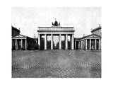 Brandenburg Gate, Berlin, 1893 Giclee Print by John L Stoddard