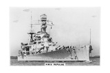 Battlecruiser HMS Repulse, 1937 Giclee Print