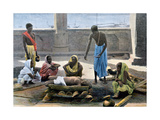 Cremation in India, C1890 Giclee Print by  Gillot