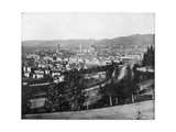 Panorama of Florence, Italy, Late 19th Century Giclee Print by John L Stoddard