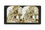 Street of Tea Houses, Shanghai, China, 20th Century Giclée-Druck von ME Wright