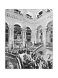 Interior of the Grand Opera House, Paris, Late 19th Century Giclee Print by John L Stoddard