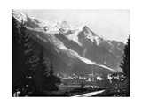 Mont Blanc from Switzerland, 1893 Giclee Print by John L Stoddard