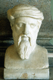 Pythagoras, Ancient Greek Mathematician and Philosopher, 6th Century Bc Photographic Print