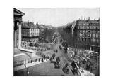 Boulevard De La Madeleine, Paris, Late 19th Century Giclee Print by John L Stoddard