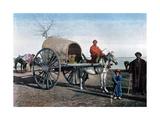 Bukhara Wagon, Uzbekistan, C1890 Giclee Print by  Gillot