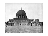 Mosque of Omar, Jerusalem, 1893 Giclee Print by John L Stoddard