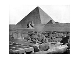 The Pyramids and Sphinx, Egypt, 1893 Giclee Print by John L Stoddard