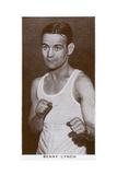 Benny Lynch, Scottish Boxer, 1938 Lámina giclée