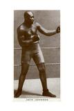 Jack Johnson, American Boxer Giclee Print