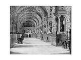 The Vatican Library, Rome, Late 19th Century Giclee Print by John L Stoddard