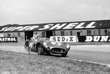 Carroll Shelby Driving Aston Martin Dbr1, Tt Race, Goodwood, Sussex, 1959 Reproduction photographique par Maxwell Boyd