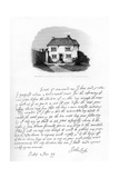 Part of a Letter from John Locke to Sir Hans Sloane, Late 17th-Early 18th Century Giclee Print by John Locke