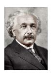 Albert Einstein, German-Swiss Mathematician and Theoretical Physicist, C1930S Giclee Print