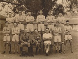 The Battalion Boxing Team of the First Battalion, the Queen's Own Royal West Kent Regiment Photographic Print