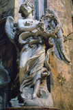 Angel with the Crown of Thorns, 1667-1669 Photographic Print by Gian Lorenzo Bernini