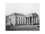 The White House, Washington Dc, Late 19th Century Giclee Print by John L Stoddard