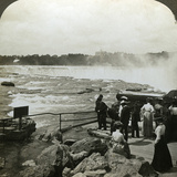 Terrapin Point, Goat Island, Niagara Falls, USA Photographic Print by HC White