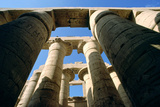 Columns, Karnak, Thebes, Egypt, 20th Century Photographic Print by Jacques Marthelot