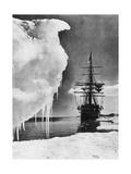The Terra Nova, 1911 Giclee Print by Herbert Ponting