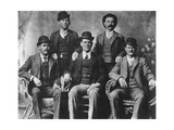 The Wild Bunch, American Outlaw Gang, 1901 Lámina giclée