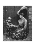 Pearly Queen and Pearly Prince, London, 1926-1927 Giclee Print by  Hoppe