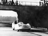 Bernd Rosemeyer Driving an Auto Union, C1937-C1938 Photographic Print