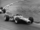 Graham Hill in a Lotus 49, French Grand Prix, Le Mans, 1967 Fotodruck von Maxwell Boyd
