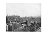 Edinburgh and Scott's Monument, Late 19th Century Giclee Print by John L Stoddard