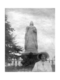 Queen Victoria's Statue, College Green, Bristol, 20th Century Giclee Print by Joseph Edgar Boehm
