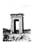 Temple Arch at Karnak, Egypt, 1863-1864 Giclee Print by Richard Phene Spiers