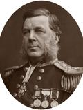 Captain Bedford Clapperton Trevelyan Pim, British Naval Officer, 1883 Photographic Print by  Lock & Whitfield