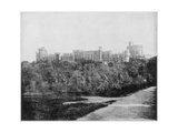 Windsor Castle, England, Late 19th Century Giclee Print by John L Stoddard