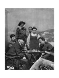 Vladimir Ilich Lenin, Russian Bolshevik Revolutionary, Capri, Italy, 1908 Giclee Print by Yury Zhelyabuzhsky