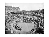 Interior of the Colosseum, Rome, 1893 Giclee Print by John L Stoddard