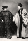 Gertude Elliott and Johnston Forbes-Robertson in the Merchant of Venice, Early 20th Century Photographic Print by Lizzie Caswall Smith