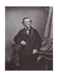 Richard Wagner, German Composer, 1860s Giclee Print by Franz Hanfstaengl
