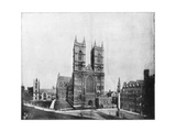 Westminster Abbey, London, Late 19th Century Giclee Print by John L Stoddard