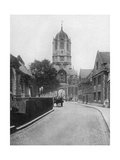 Tom Tower, Christchurch College, Oxford, Oxfordshire, 1924-1926 Giclee Print by W Mann