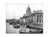 Custom House, Dublin, Ireland, Late 19th Century Giclee Print by John L Stoddard