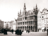 Market Square, Brussels, 1898 Photographic Print by James Batkin
