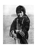 Bedouin Girl in the Syrian Desert, 1936 Giclee Print by HJ Shepstone