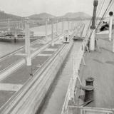 SS Orbita, Panama Canal, Panama, 20th Century Photographic Print by J Dearden Holmes