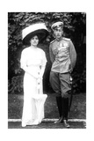 Princess Helen of Serbia with Her Husband Prince John Constantinovich of Russia, C1915 Giclee Print